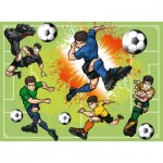 Puzzle  Ravensburger-10693 XXL Pieces - In Football Fever