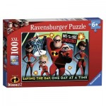 Puzzle  Ravensburger-10716 XXL Pieces - Disney Pixar The Incredibles 2