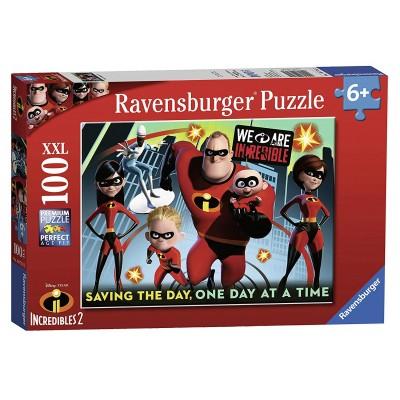 Puzzle Ravensburger-10716 XXL Pieces - Disney Pixar The Incredibles 2