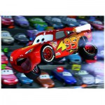 Ravensburger-10721 Jigsaw Puzzle - 100 Pieces - Maxi - Disney Cars : Beware the Landing !