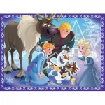 Puzzle  Ravensburger-10730 XXL Pieces - Frozen
