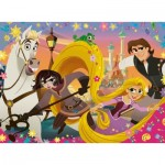 Puzzle  Ravensburger-10750 XXL Pieces - Disney Tangled