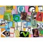 Puzzle  Ravensburger-10761 XXL Pieces - Funny Alphabet
