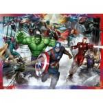 Puzzle  Ravensburger-10771 XXL Pieces - Avengers