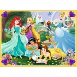 Puzzle  Ravensburger-10775 XXL Pieces - Disney Princess