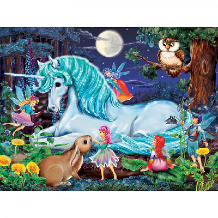 Jigsaw Puzzle - 100 Pieces - Maxi - The Magic Wood