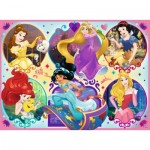 Puzzle  Ravensburger-10796 XXL Pieces - Disney Princess