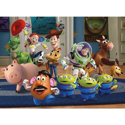 Ravensburger-10828 Jigsaw Puzzle - 100 Pieces - Toy Story 3