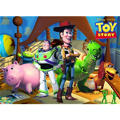 Ravensburger-10835 Jigsaw Puzzle - 100 Pieces - Maxi - Toy Story