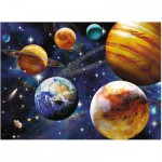 Puzzle  Ravensburger-10904 XXL Pieces - Space