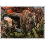 Puzzle  Ravensburger-10915 Jurassic World