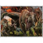 Puzzle  Ravensburger-10915 Jurassic World