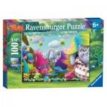 Puzzle  Ravensburger-10916 XXL Pieces - Trolls