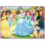 Puzzle  Ravensburger-10938 XXL Pieces - Disney Princess