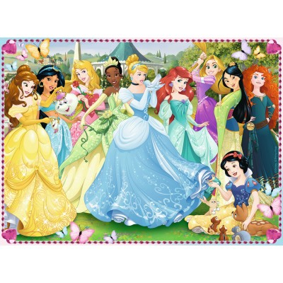 Puzzle Ravensburger-10938 XXL Pieces - Disney Princess