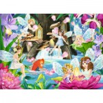Puzzle  Ravensburger-10942 XXL Pieces - Magical Fairies