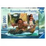 Puzzle  Ravensburger-10943 XXL Pieces - Vaiana et Maui