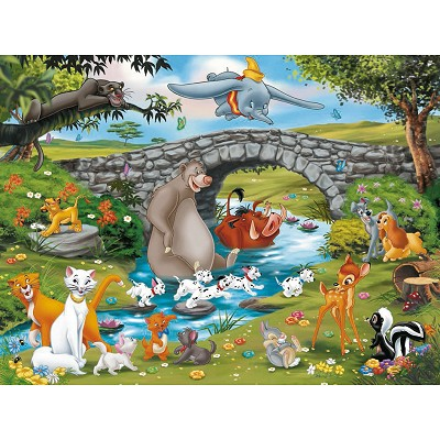 Ravensburger-10947 Jigsaw Puzzle - 100 Pieces - Animal Friends