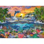 Puzzle  Ravensburger-10950 XXL Pieces - Tropical Paradise