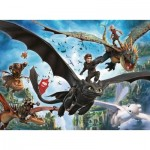 Puzzle  Ravensburger-10955 XXL Pieces - Dragon