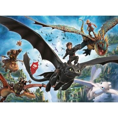 Puzzle Ravensburger-10955 XXL Pieces - Dragon