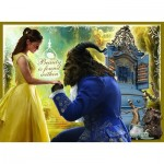 Puzzle  Ravensburger-10960 XXL Pieces - Beauty and the Beast - With Glitter