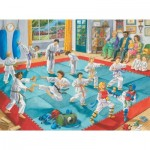 Puzzle  Ravensburger-10968 XXL Pieces - Martial Arts