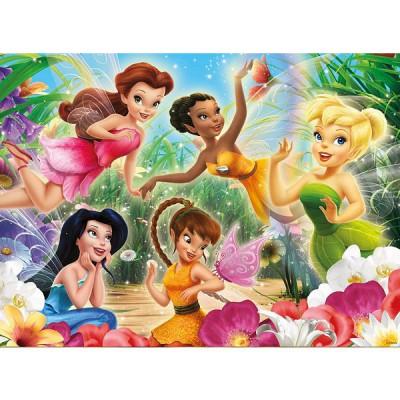 Ravensburger-10972 Jigsaw Puzzle - 100 Pieces - Disney Fairies : My Fairies