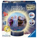 Ravensburger-11141 3D Puzzle with LED - Frozen II