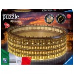 Ravensburger-11148 3D Puzzle with LED - The Coliseum