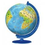 Ravensburger-11160 Puzzle 3D - Children's Globe in German