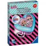 Ravensburger-11164 3D Puzzle - Heart Box - LOL Surprise!