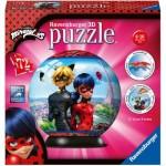 Ravensburger-11167 3D Puzzle - Miraculous