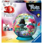 Ravensburger-11169 3D Puzzle - DreamWorks - Trolls
