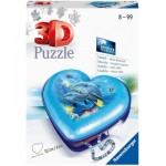 Ravensburger-11172 3D Puzzle - Heart Box - Underwater World