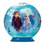 Ravensburger-11182-01 3D Puzzle Ball - Frozen II