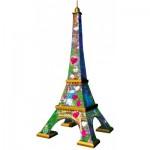 Ravensburger-11183 3D Puzzle - Eiffel Tower