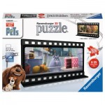 Ravensburger-11212 3D Jigsaw Puzzle - The Secret Life of Pets