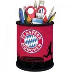 Ravensburger-11215 3D Puzzle - Pencil Cup: FC Bayern