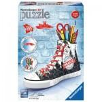 Ravensburger-11224 3D Puzzle - Sneacker - Prague