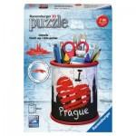 Ravensburger-11225 3D Puzzle - Pencil Cup - Prague