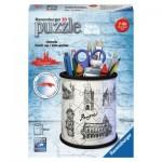 Ravensburger-11226 3D Puzzle - Pencil Cup - Prague