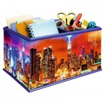 Ravensburger-11227 3D Puzzle - Box : Skyline