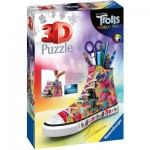 Ravensburger-11231 3D Puzzle - Trolls World Tour Sneaker
