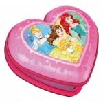 Ravensburger-11234 3D Puzzle - Heart Box - Disney Princess