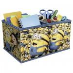 Ravensburger-11260 3D Puzzle - Storage Box: Minions