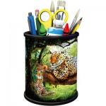 Ravensburger-11263 3D Puzzle - Pencil Cup - Tiger
