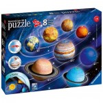 Ravensburger-11668 8 3D Puzzles - Solar System