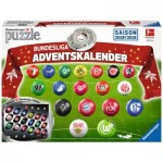 Ravensburger-11679 3D Puzzle - Advent Calendar Bundesliga - Season 2018/2019 (in German)