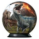 Ravensburger-11757 3D Puzzle-Ball - Jurassic World